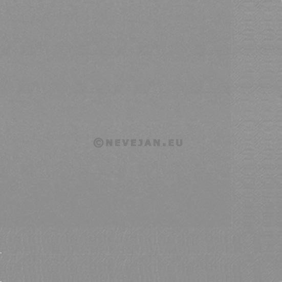 Servet Duni 3laag grijs 40x40cm 125st