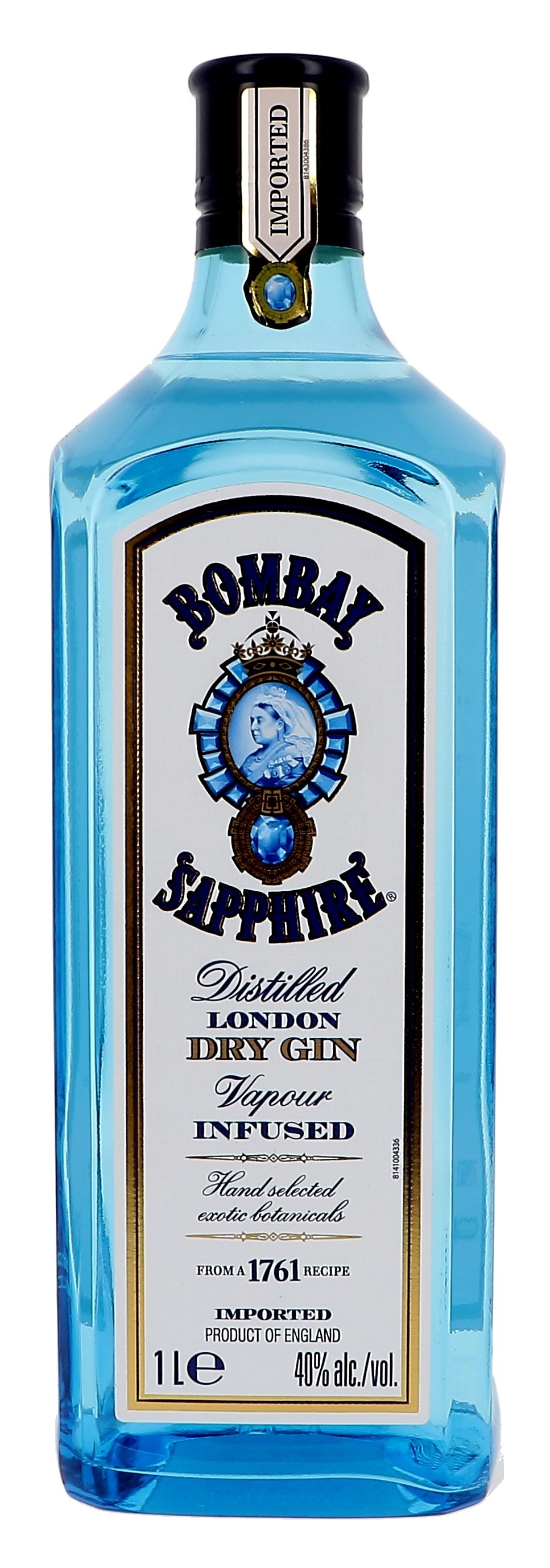 Gin bombay 1l 40% saphire