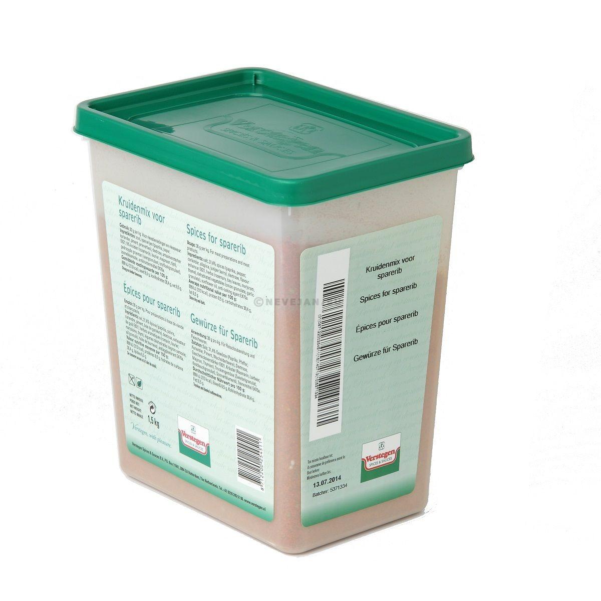 Verstegen Spare Ribkruiden 1.6kg 3LP
