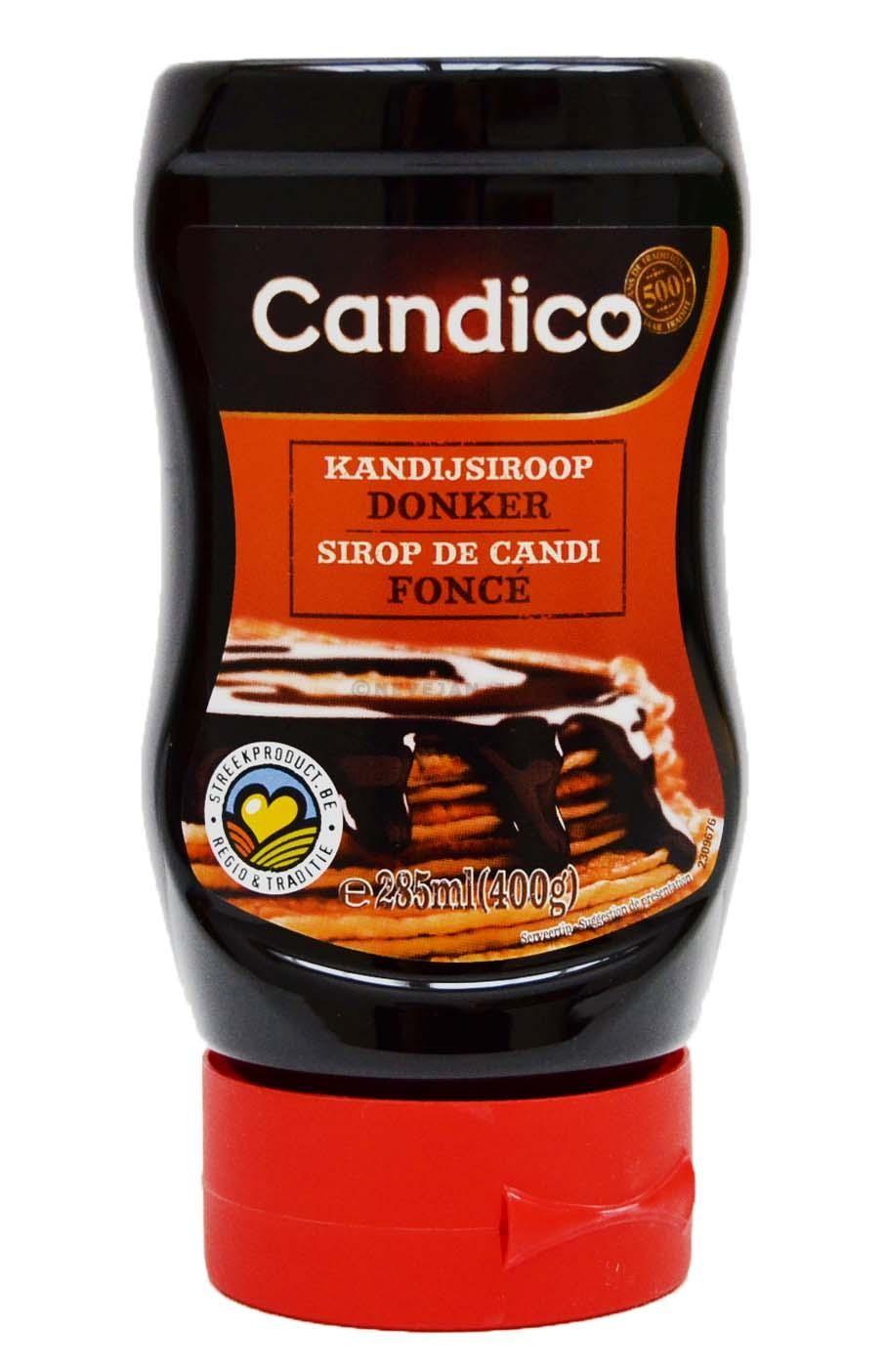 Kandijsuikersiroop donker 450gr candico
