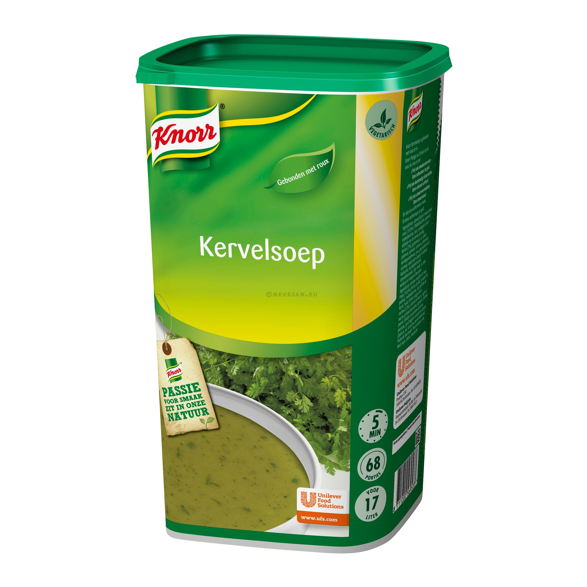 Knorr kervelsoep 1.365kg Dagsoep