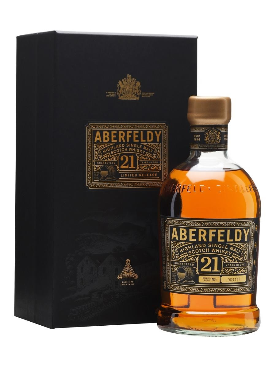 Malt whisky aberfeldy 21y 70cl 40% highland