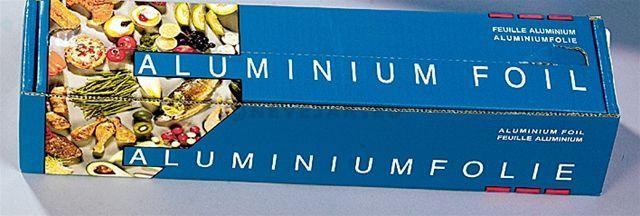 Aluminiumrol 30cm 250m (14my) 1st cutterbox