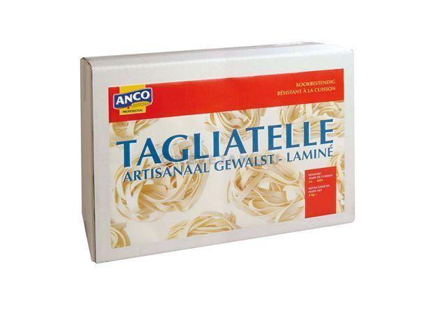 Anco tagliatelli nestjes artisanaal gewalst 3kg