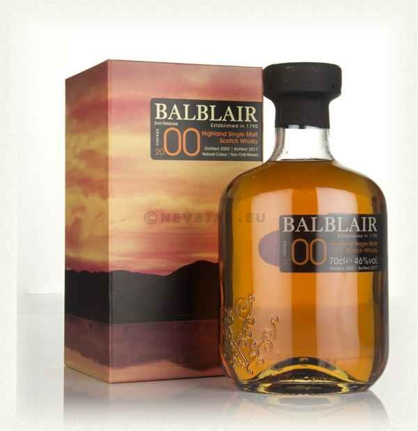 Balblair 2000 70cl 40% Highland Single Malt Scotch Whisky