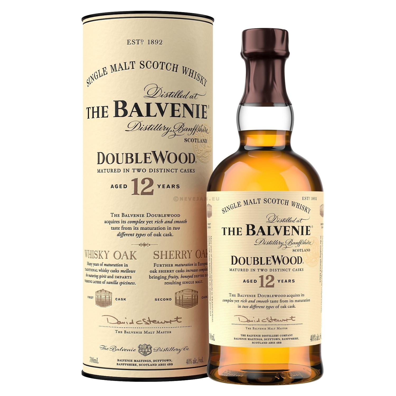 Malt whisky the balvenie 12year 70cl 40% speyside