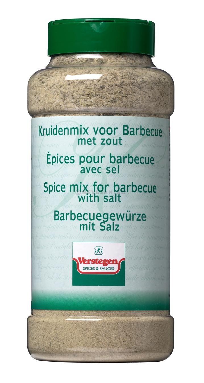 Verstegen barbecuekruiden met zout 900gr 1LP