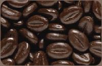 Chocolade koffiebonen fondant 1.2kg
