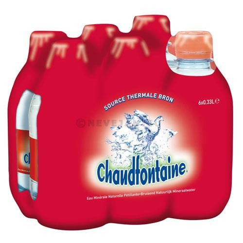 Water Chaudfontaine bruisend 24x33cl PET
