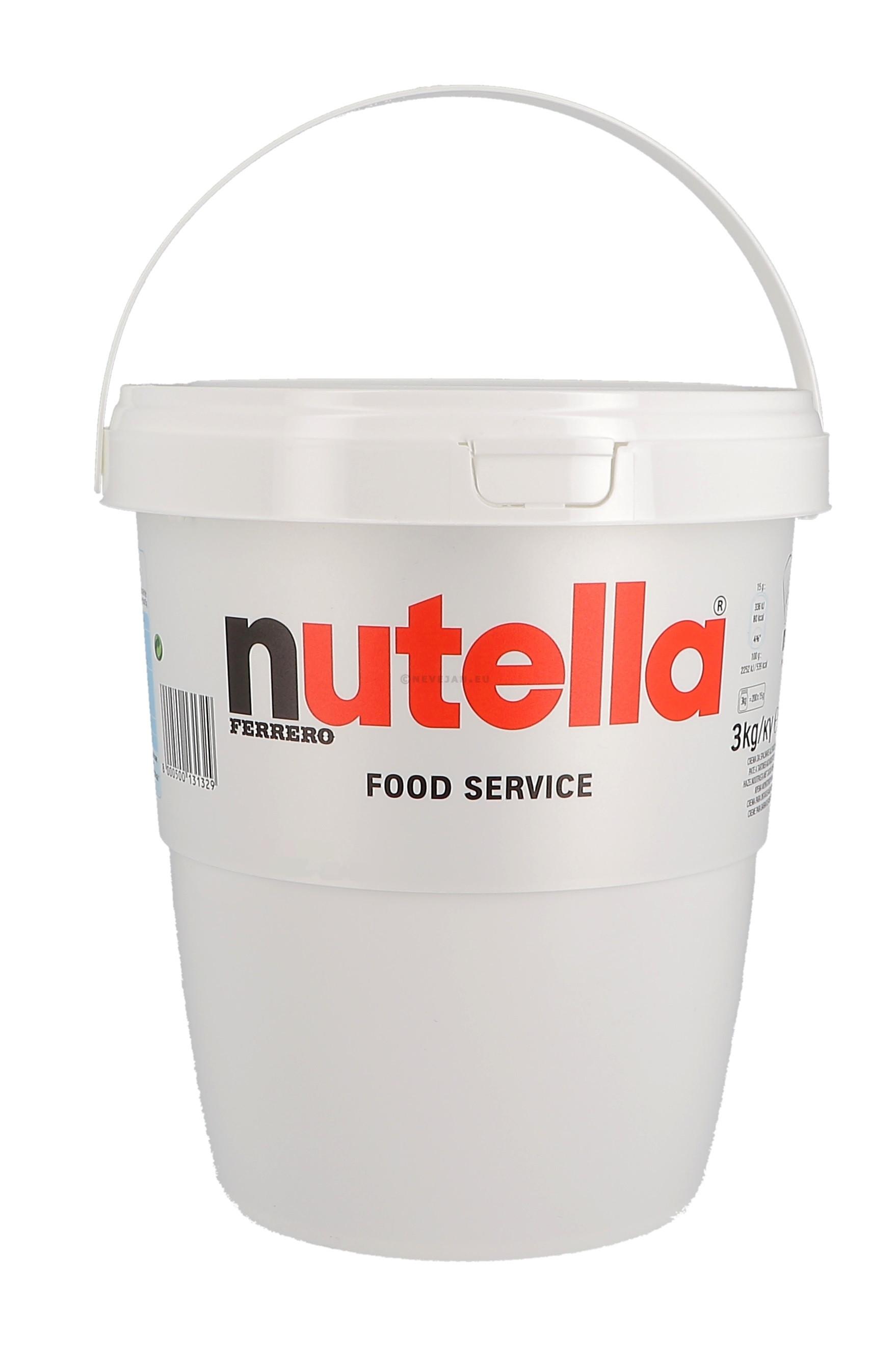 Nutella Hazelnootpasta 3kg Ferrero