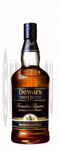 Dewar's 18year whisky 70cl 43% founder's reserve