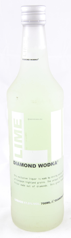 Vodka Diamond Lime 70cl 17.5%