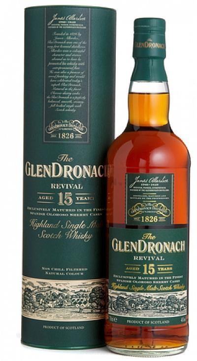 Glendronach 15 Year 70cl 40% Highland Single Malt Scotch Whisky