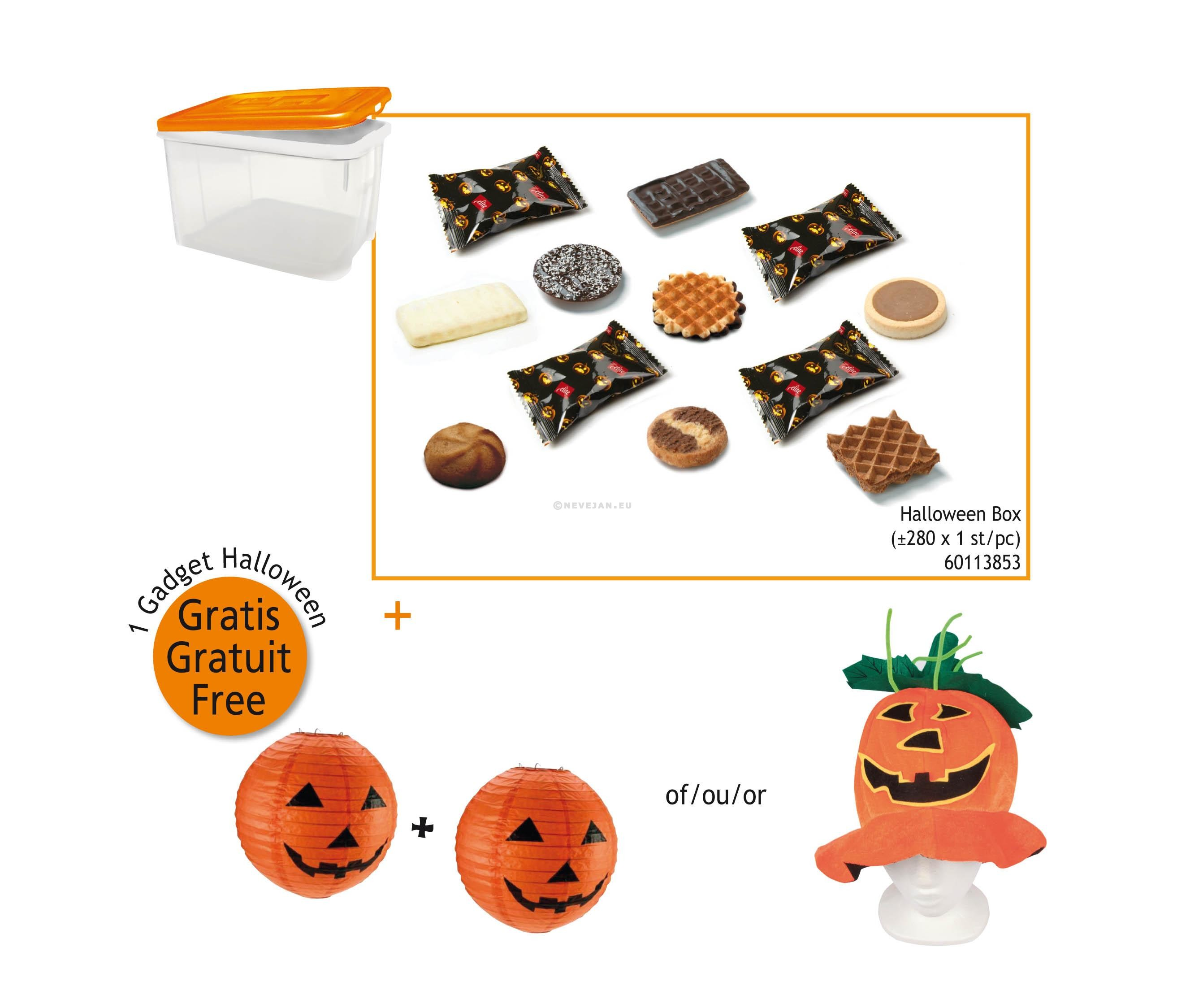Elite Biscuits Halloween assortiment 280st box