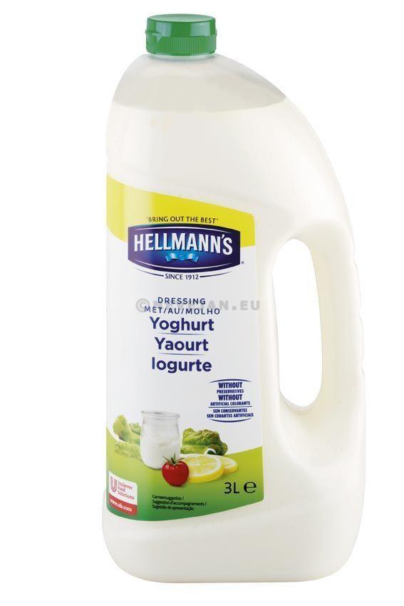 Hellmann's yoghurt dressing 3l bib