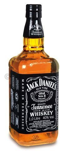 Jack daniel's 1l 40% tennessee whiskey