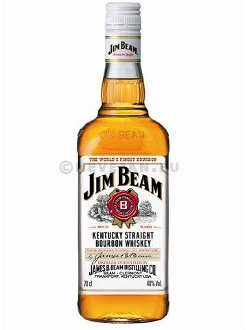 Jim beam 1l 40% kentucky bourbon whiskey