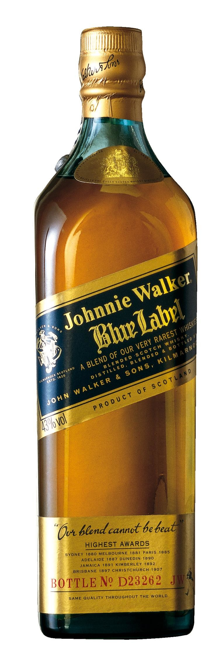 Johnnie Walker Blue Label 70cl 43% Blended Scotch Whisky