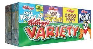 Kellog variety 18x8x25gr kellog's