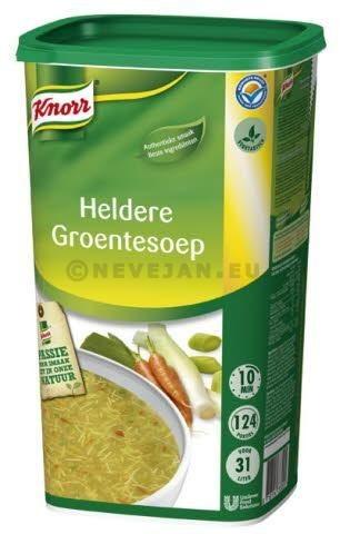Knorr Heldere Groentensoep 1.2kg Dagsoep