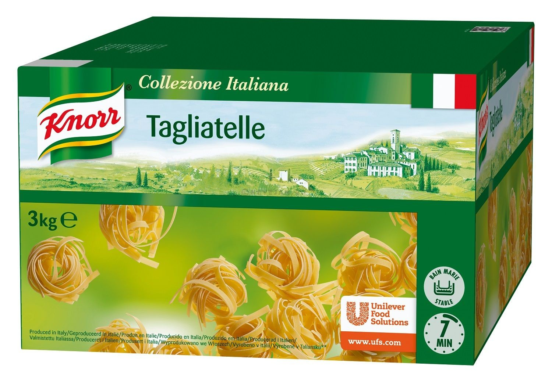 Knorr tagliatelli naturel 3kg collezione italiana