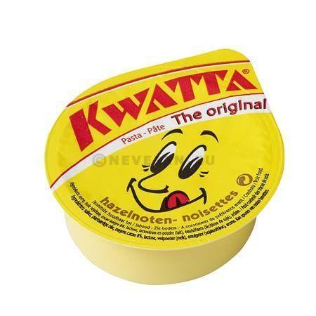 Kwatta hazelnootchocoporties cups 100x25gr