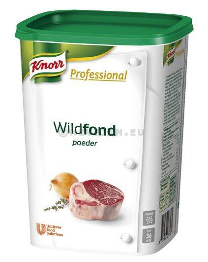 Knorr Carte Blanche wild fond poeder 900gr Professional