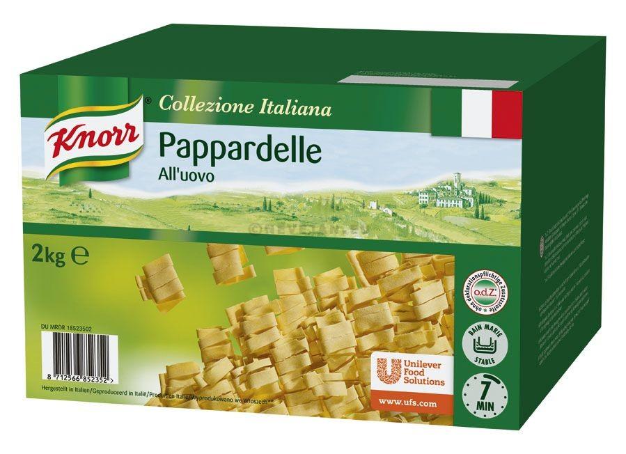 Knorr Pappardelle all'uovo 2kg Collezione Italiana