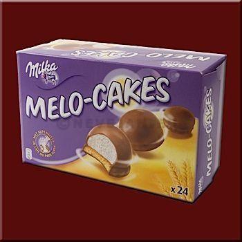 Melo cakes 10x24st milka