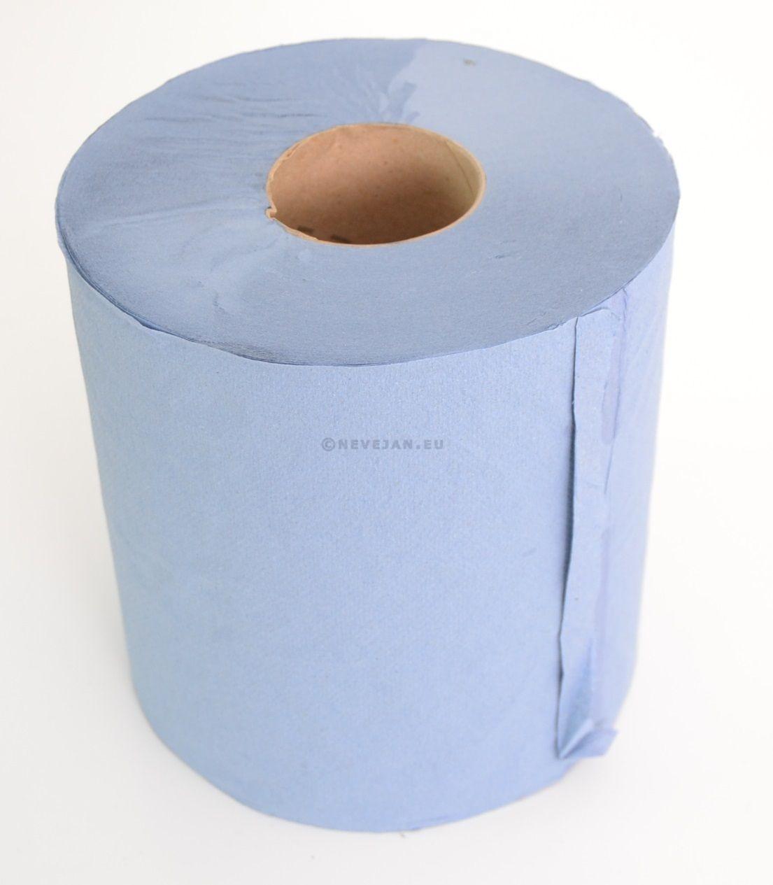 Midi Poetsrol blauw 300mx21.5cm 6 rollen