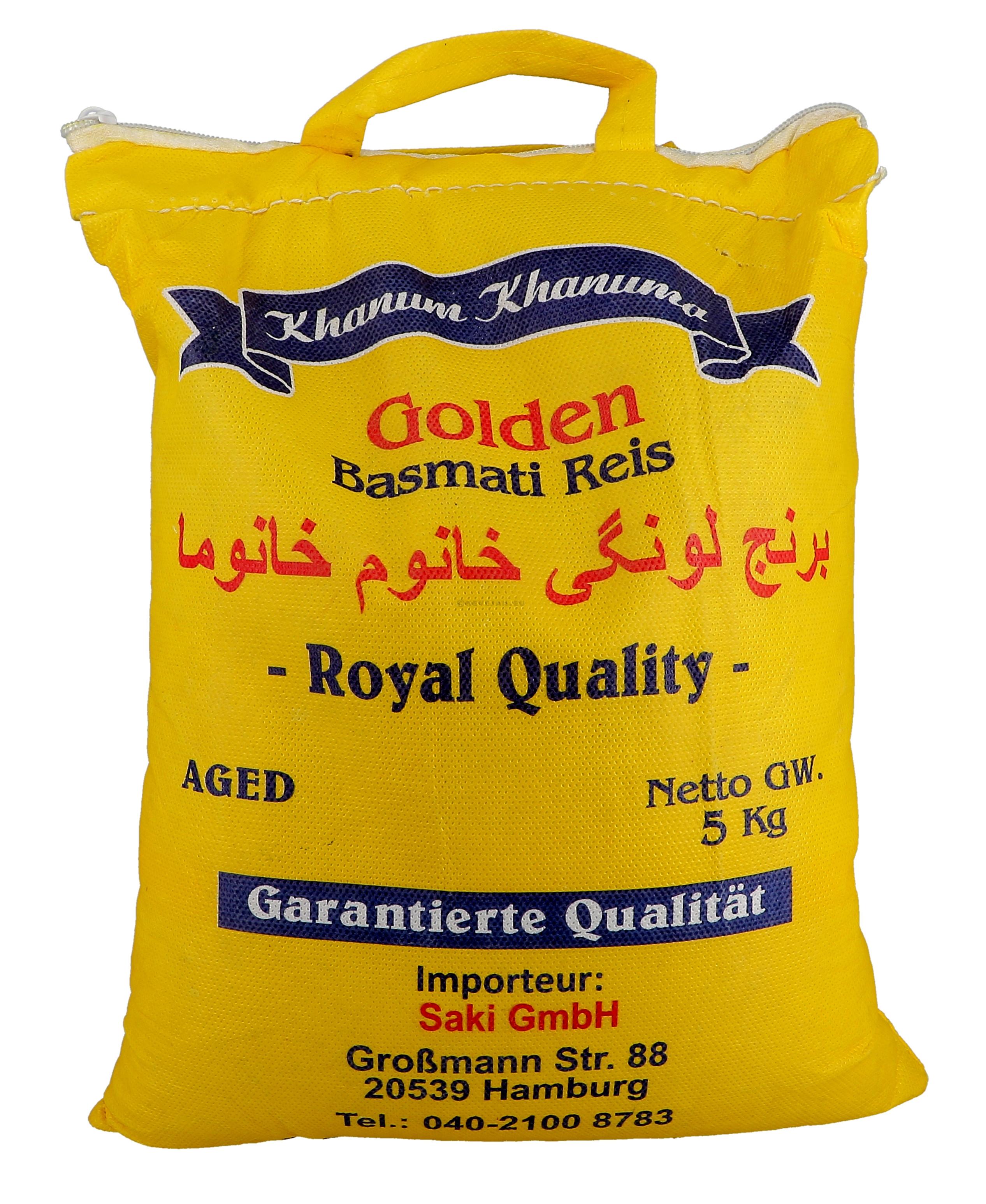 Rijst Basmati 5kg 1º kwaliteit India