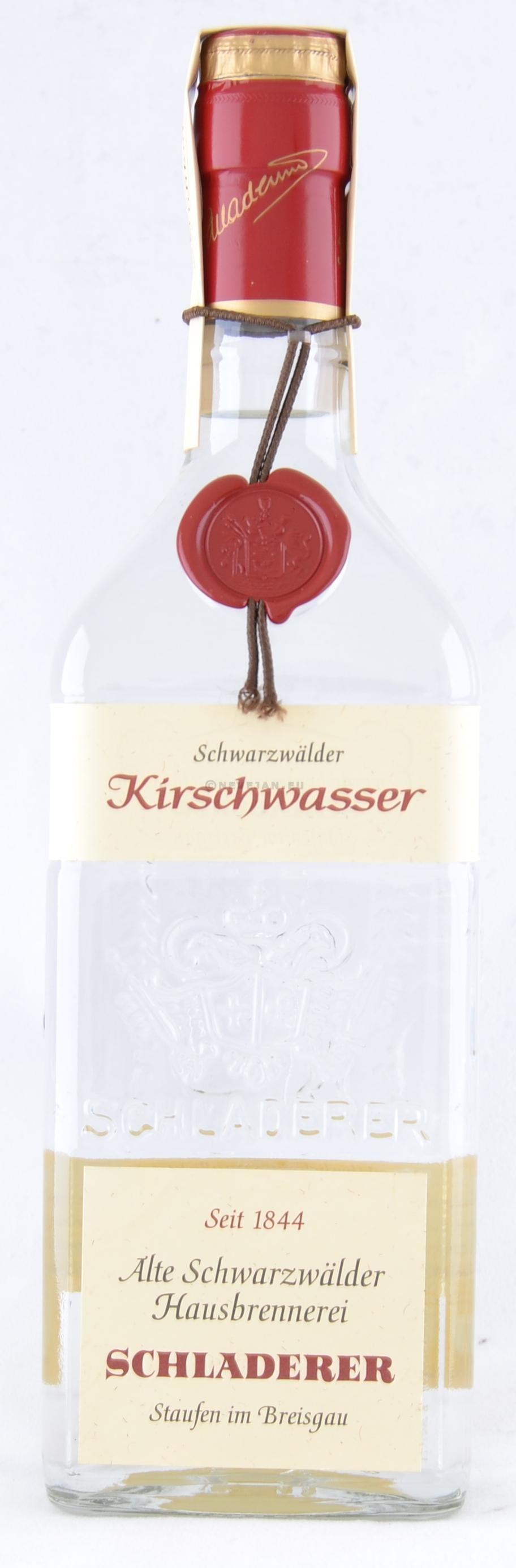 Eau de Vie Kirsch 70cl 40% Schladerer Kirschwasser