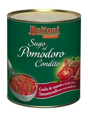 Tomatencoulis Sugo al Pomodoro condito 800gr Buitoni