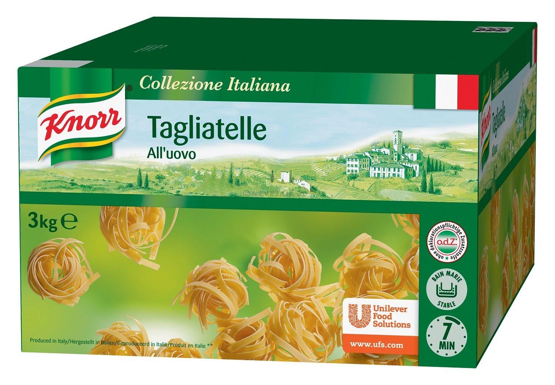 Knorr tagliatelli all'uovo 3kg collezione italiana