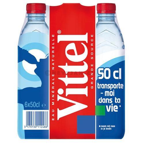 Water Vittel 24x50cl PET