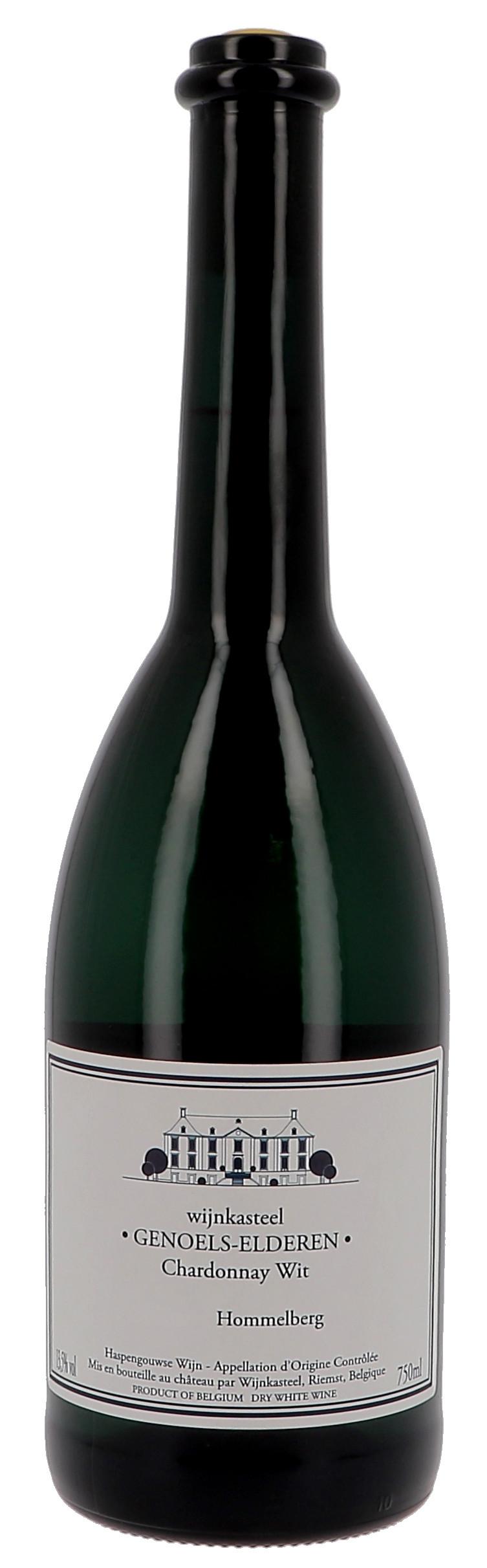 Chardonnay Wit 75cl Wijnkasteel Genoels-Elder1en