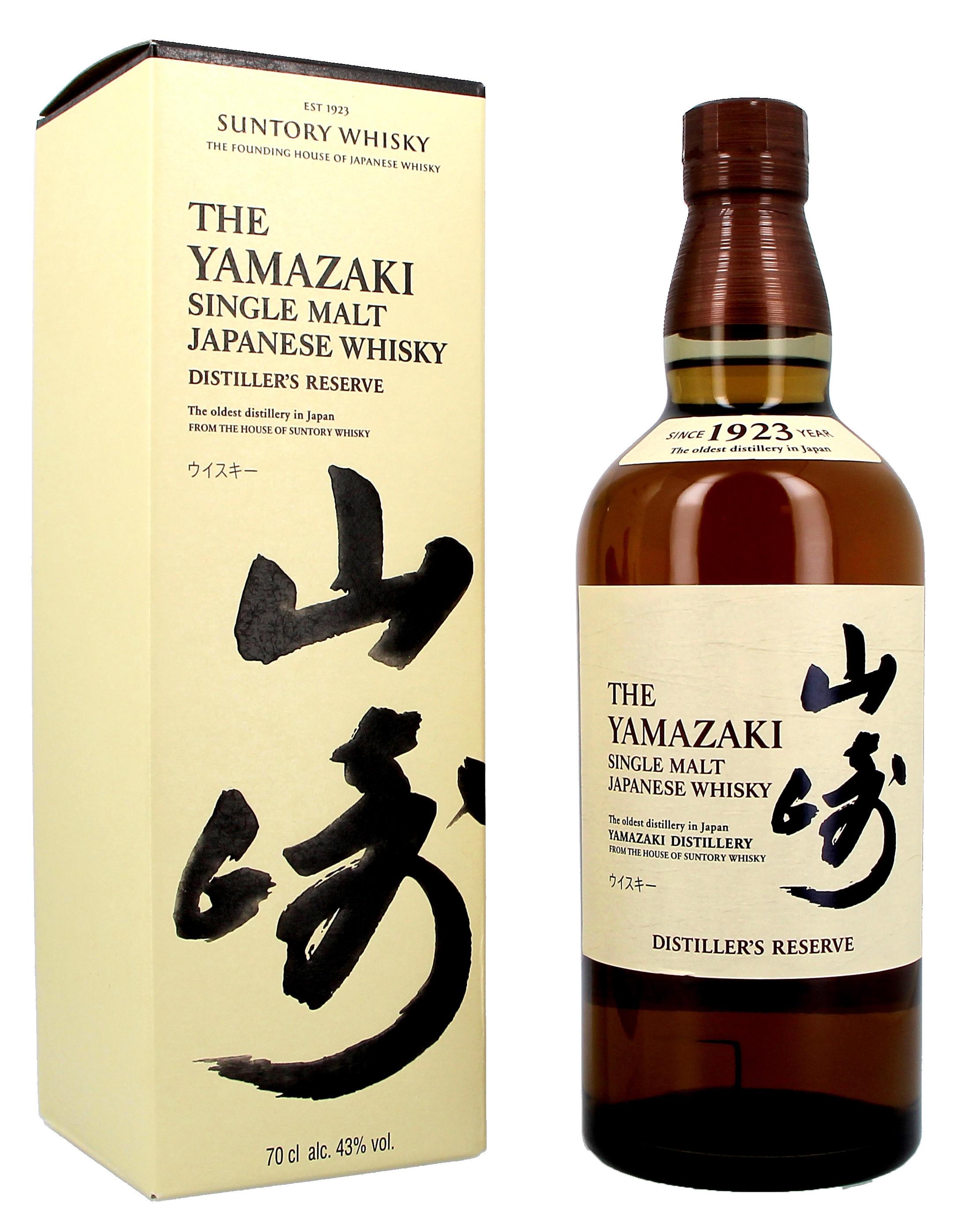The Yamazaki Distiller's Reserve 70cl 43% Japanese Malt Whisky (Whisky)