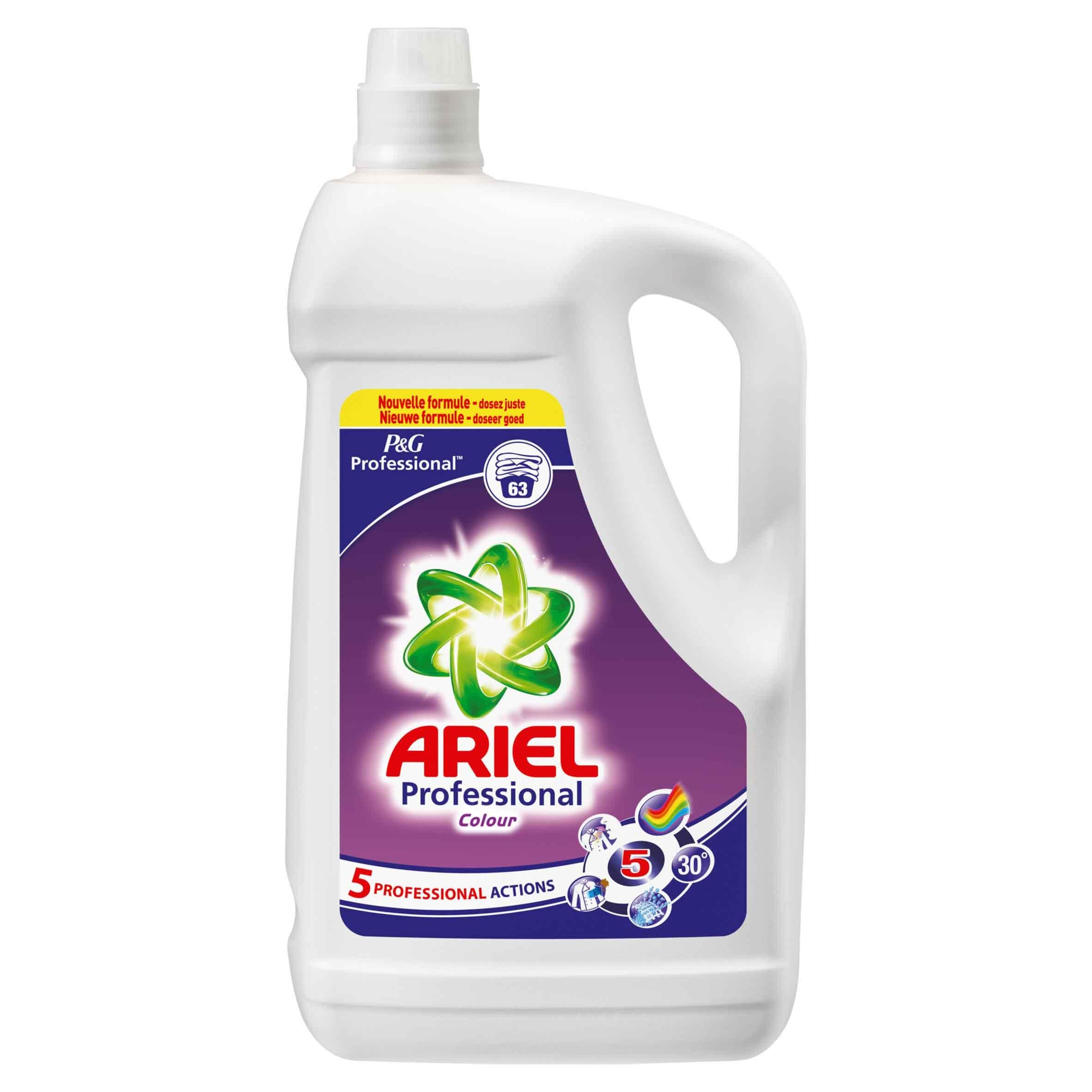 Ariel Color 63dos 4.095L vloeibaar wasmiddel P&G Professional