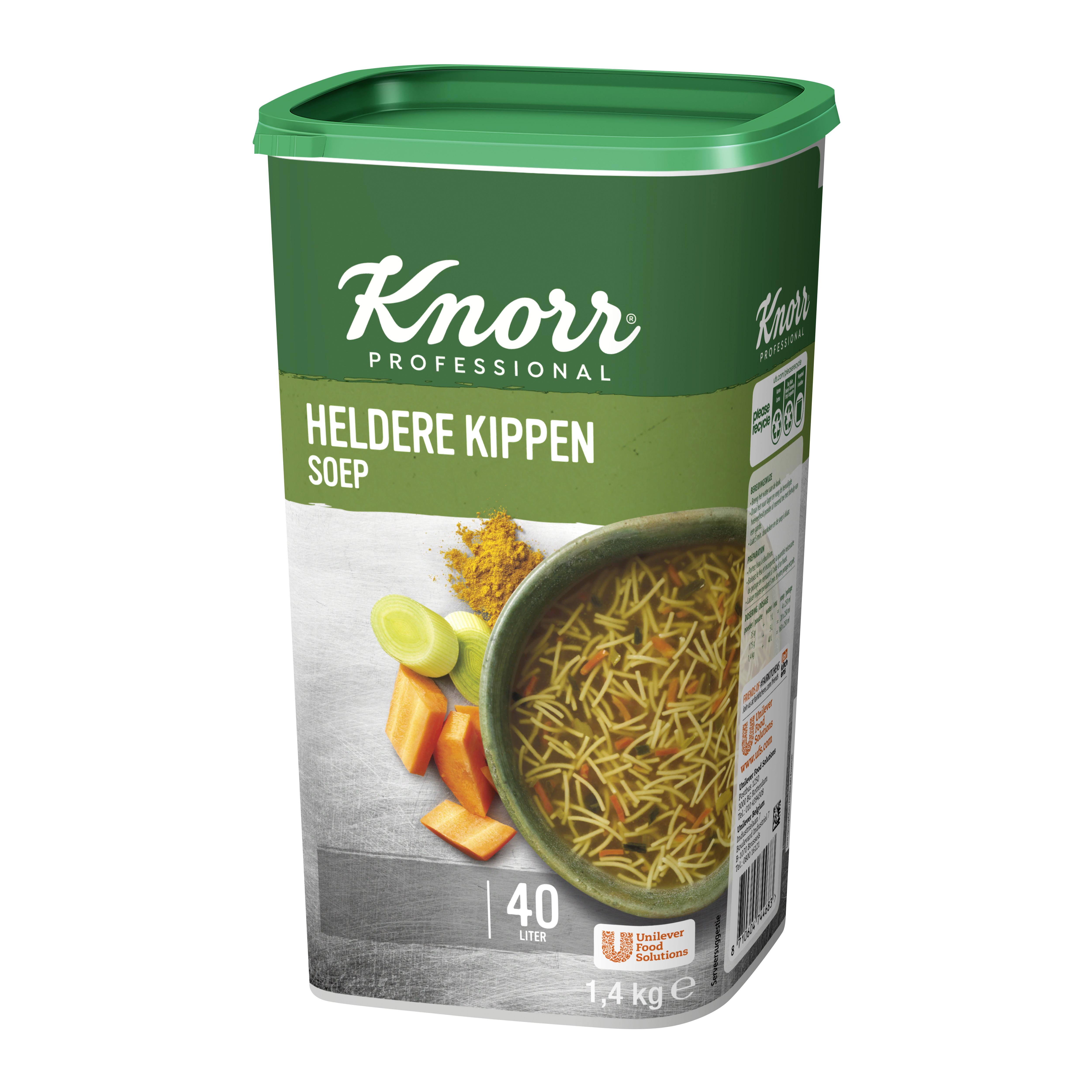 Knorr kippensoep double chicken 1.47kg dagsoep