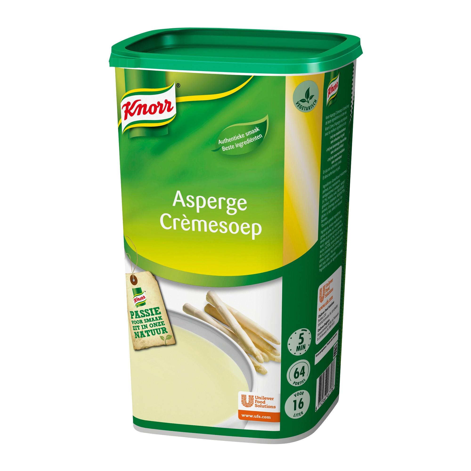 Knorr aspergesoep 1.37kg dagsoep