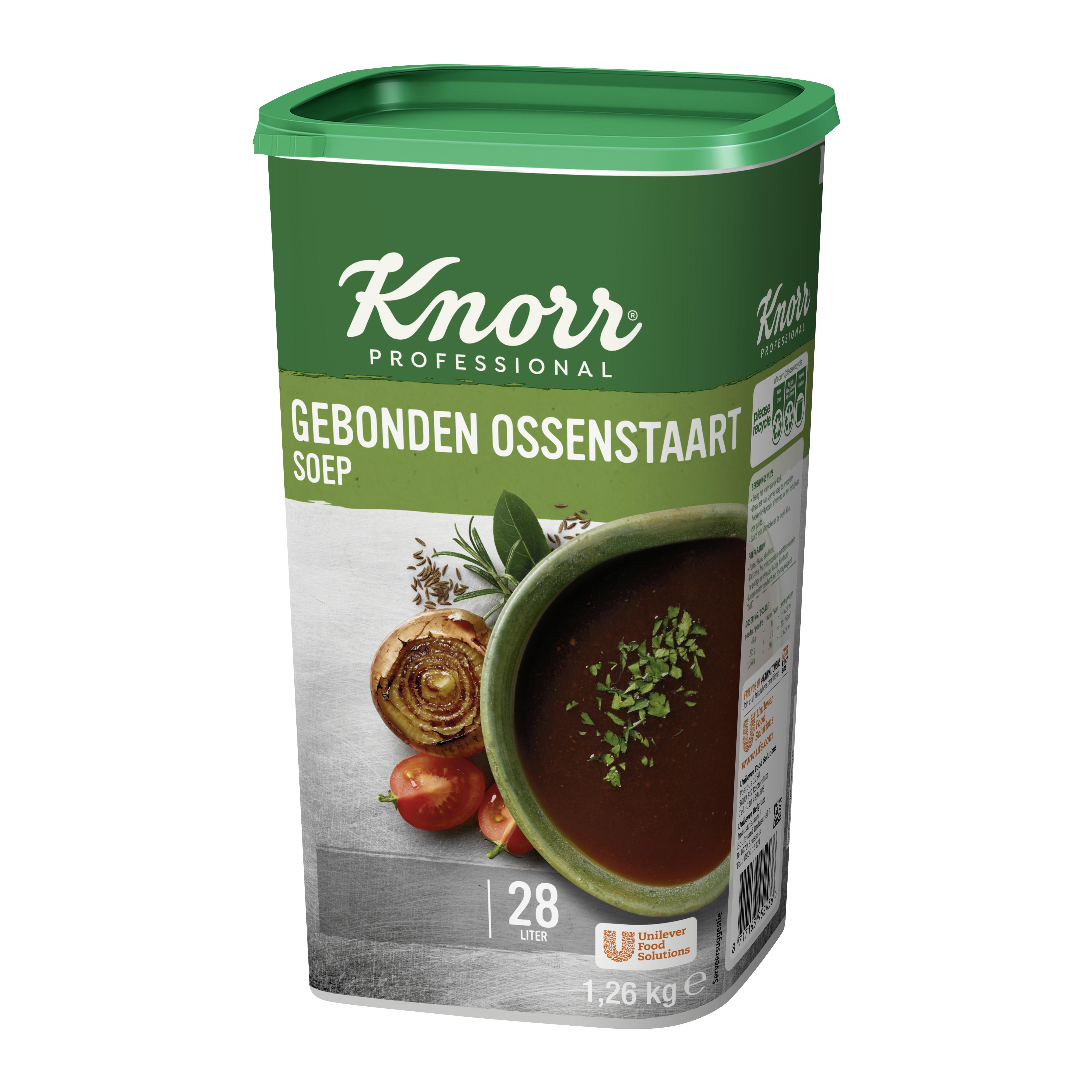 Knorr ossestaartsoep 1.485kg dagsoep