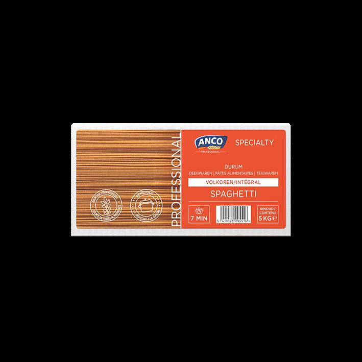 Bio volkoren spaghetti 2x5kg soubry catering