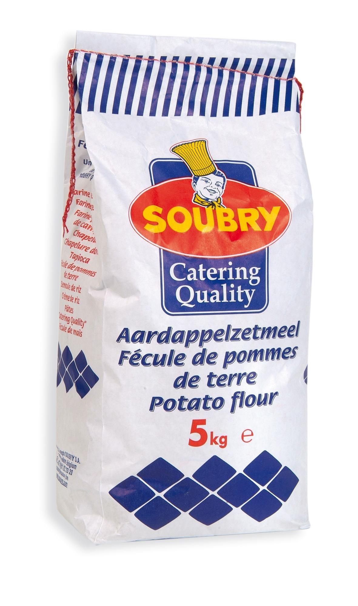 Aardappelzetmeel 5kg Soubry