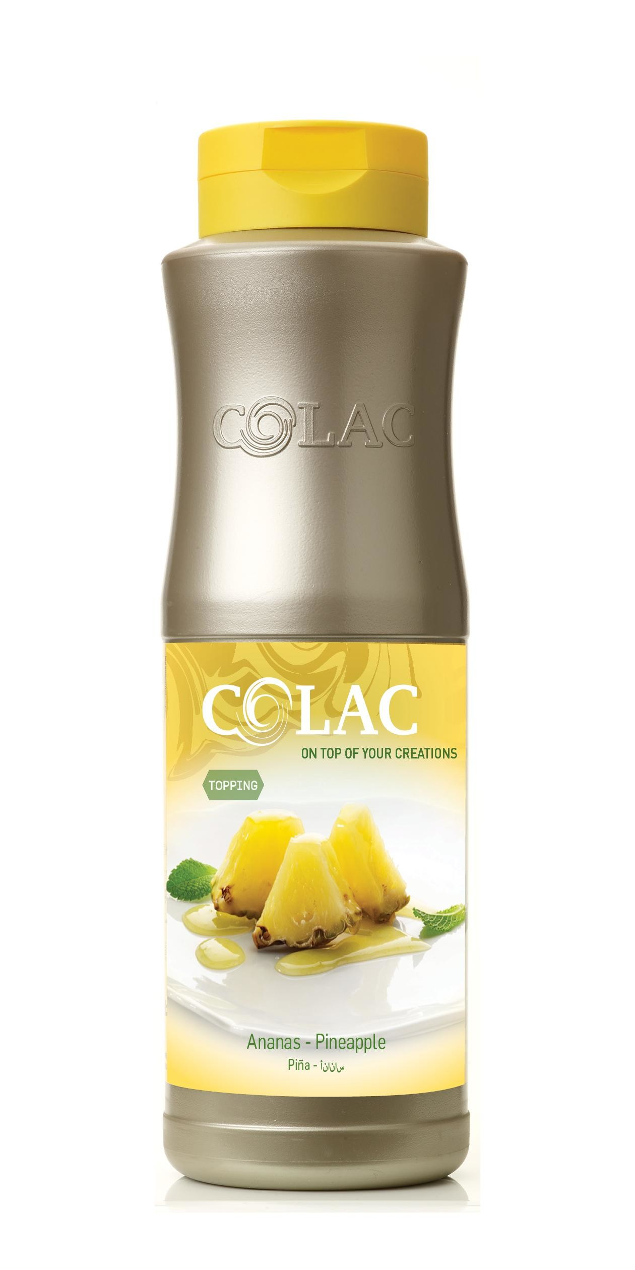 Topping ananas 750ml colac