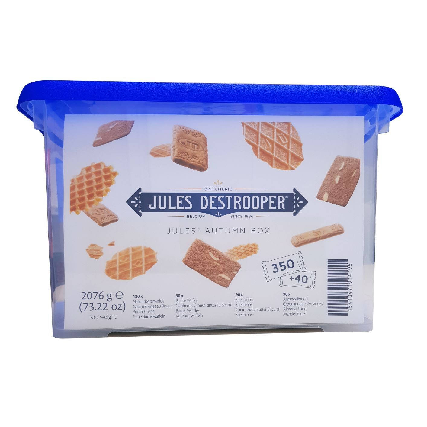 Jules Destrooper Autumn Box 350 + 40 gratis