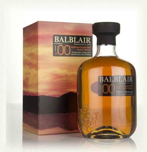 Balblair 2000 70cl 40% Highland Single Malt Scotch Whisky