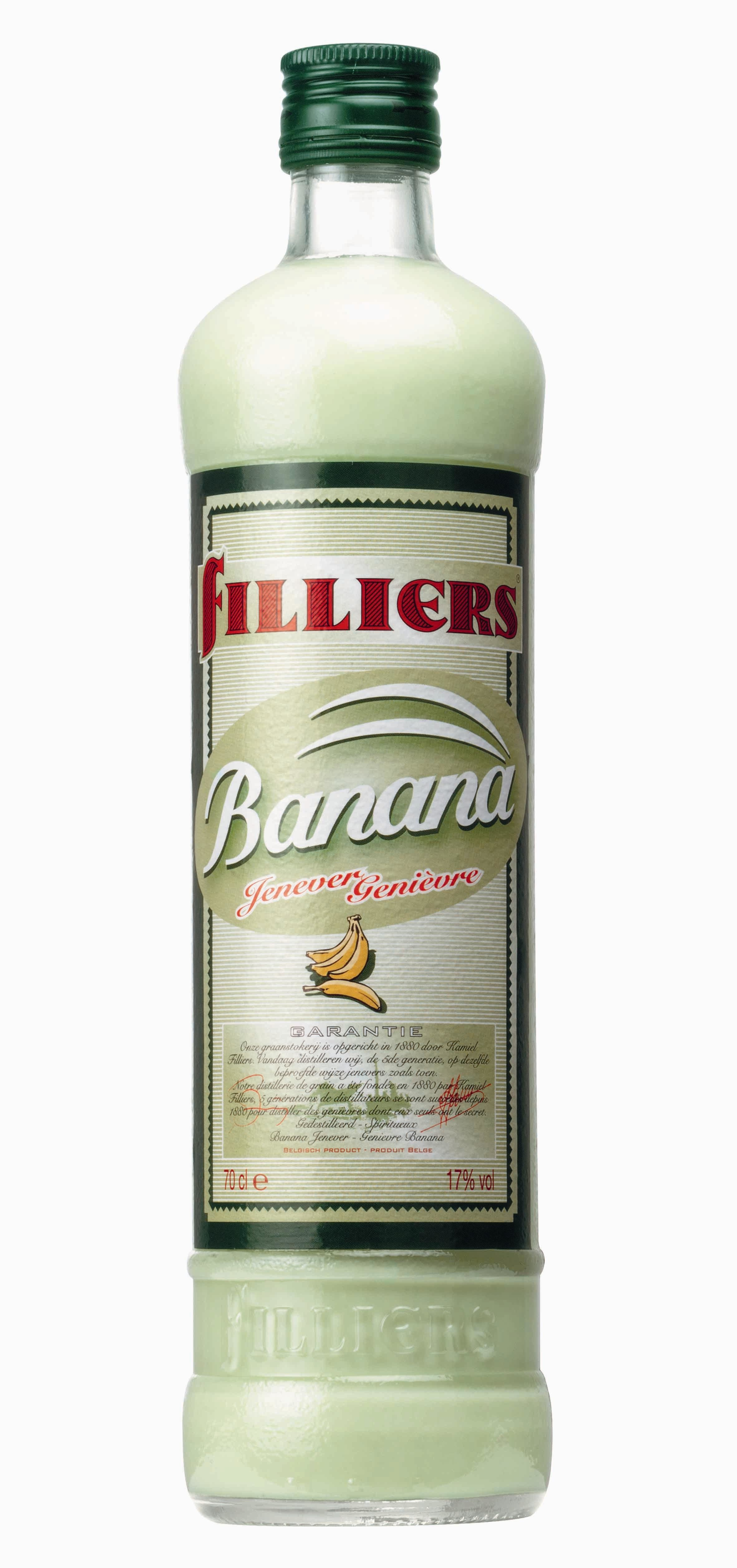 Filliers bananajenever 70cl 17%