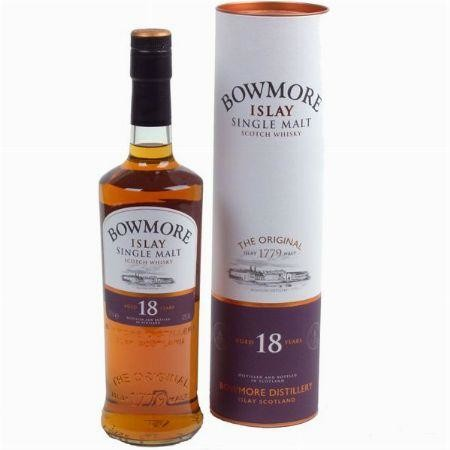 Bowmore 18 Years 70cl 43% Islay Single Malt Scotch Whisky
