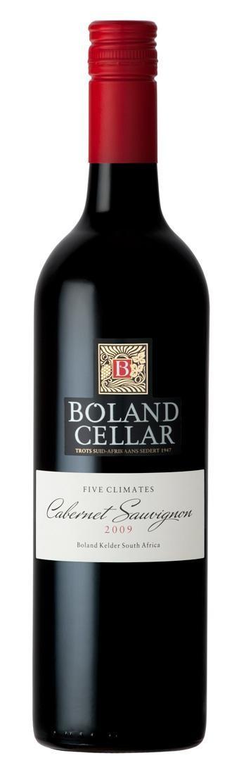 Five climates cabernet sauvignon 75cl Boland Cellar