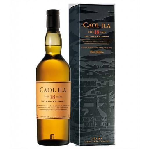 Malt whisky caol ila 18year 70cl 43% islay